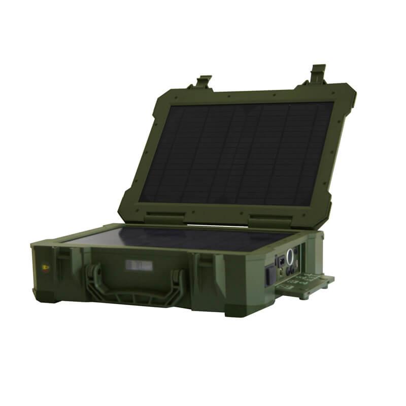 Мобильная солнечная электростанция 150Втe-power-150