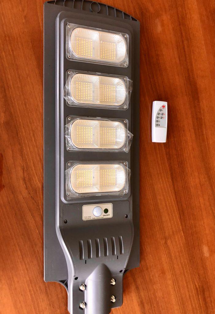 Автономный светильник на солнечной батарее 2000Лм